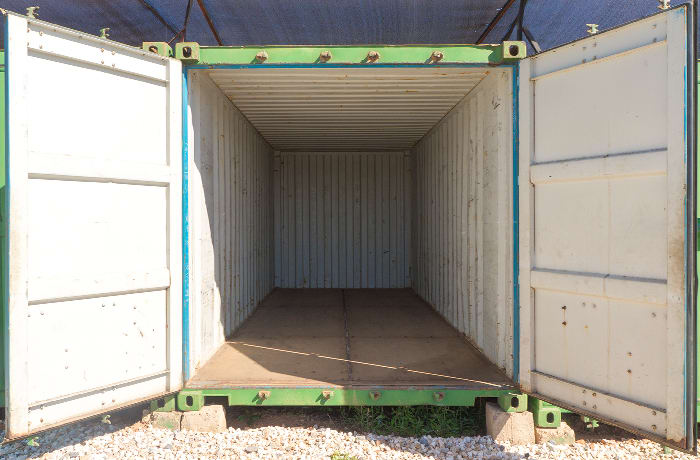 Off site container rental