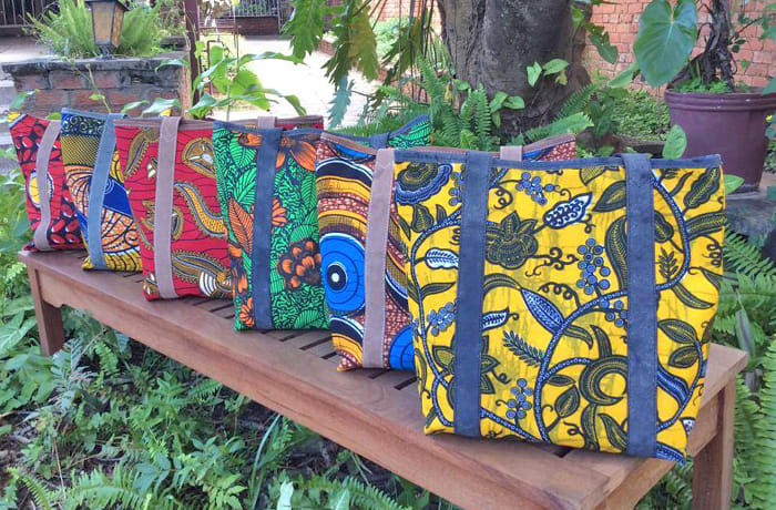 Chikumbuso Women and Orphans Project is known for their unique handcrafted bags and purses image