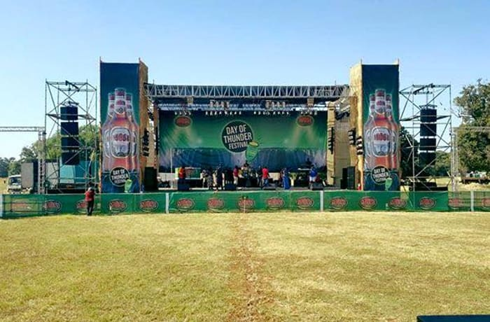 Contact Zirbo Zambia for help in organising any event that requires quality stage and music facilities image