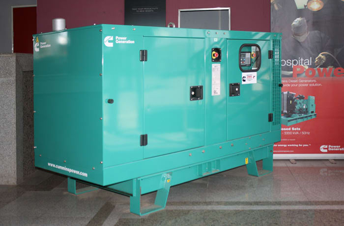 Generators for standby or continuous power image