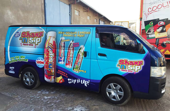 For quality vehicle branding, signage, banners and billboards image