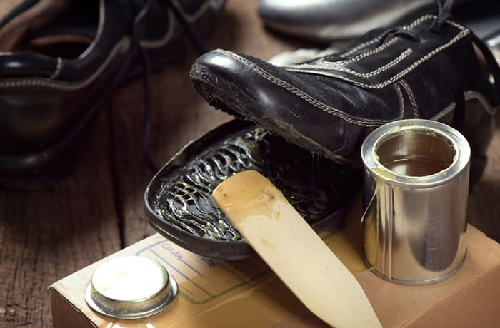 Sole repairs, heel replacements and stitching image