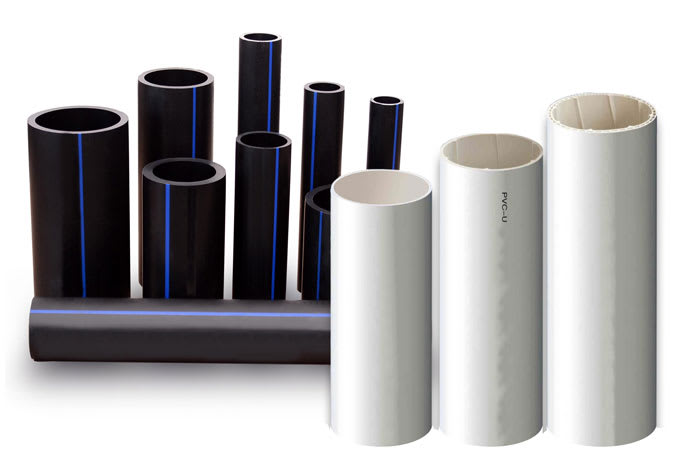 Superior quality HDPE (Poly) and PVC pipes image