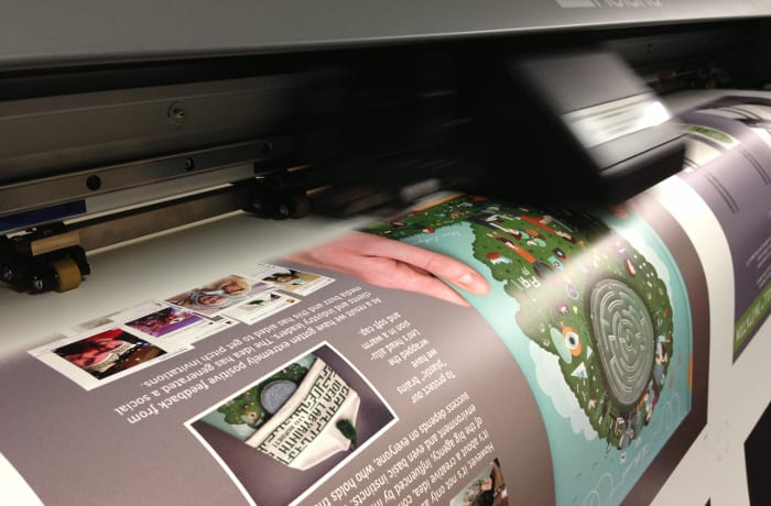 Delivers high-quality premium printing services image