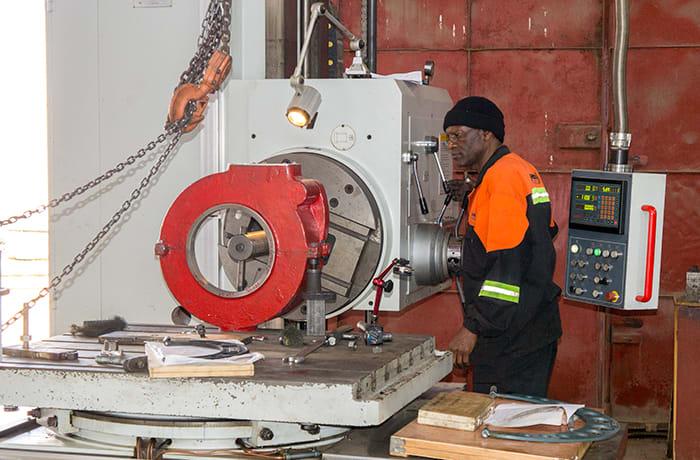 A modern precision engineering company image