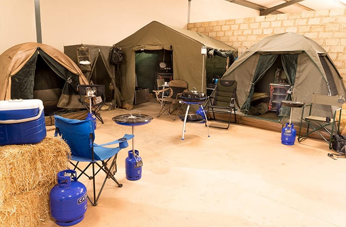 Camping tents and shelters image