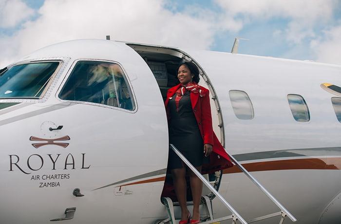 Lusaka to Royal Airstrip - April to November 2019