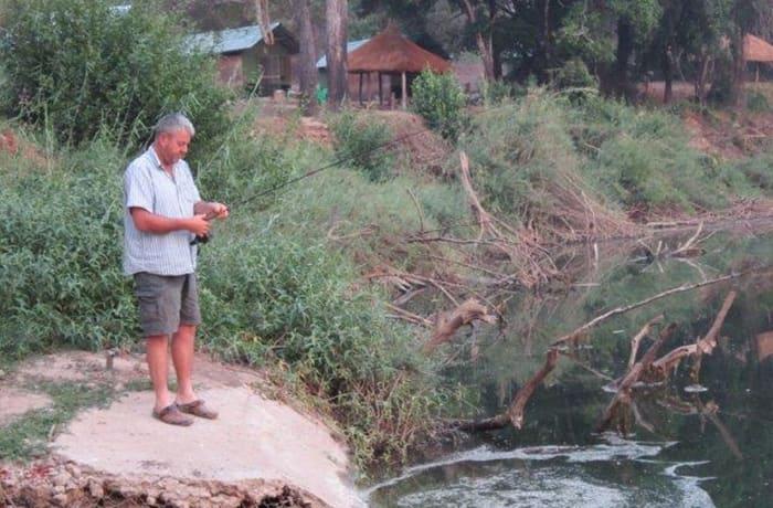 Fishing tackle hire