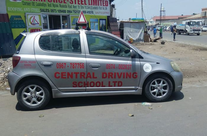 Half course of car driving lessons