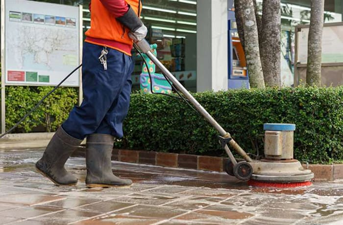 Contractual commercial, industrial and residential cleaning