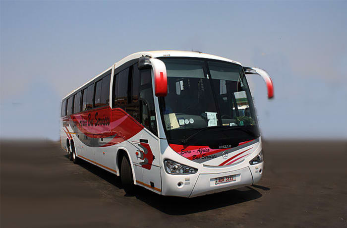 Taking coach travel in Zambia to another level image