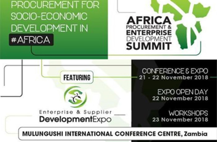 Zambia to host Africa Procurement Summit 2018 image