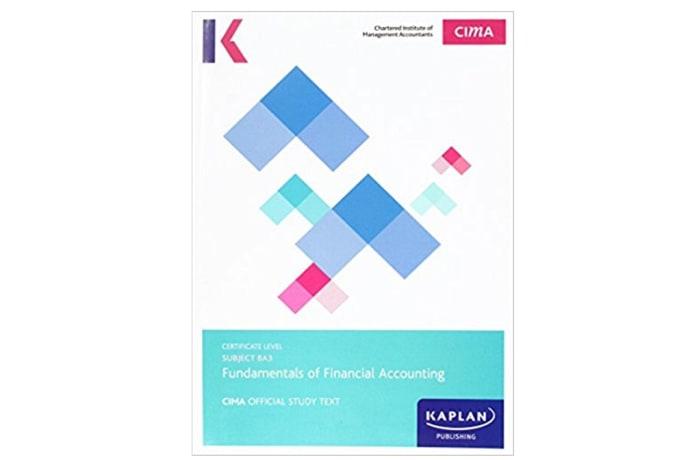 CIMA BA3 Fundamentals of Financial Accounting – Study Text