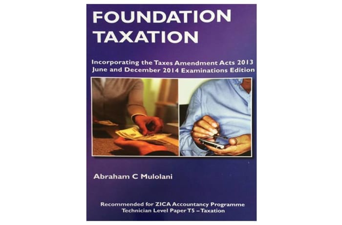 Foundation Taxation by A.C Mulolani