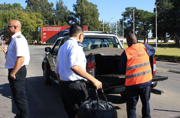 Passenger handling image