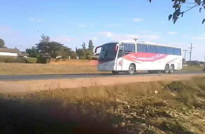 Kitwe - Lusaka Route