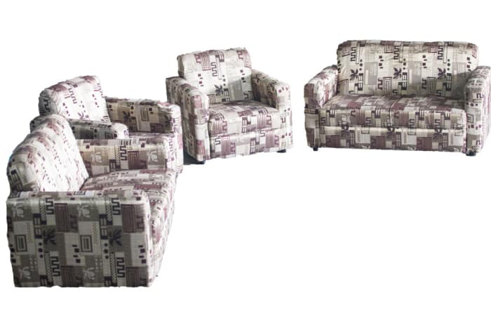 Kena Sofas - 1 x single seater, 1 x double seater and 1 x triple seater