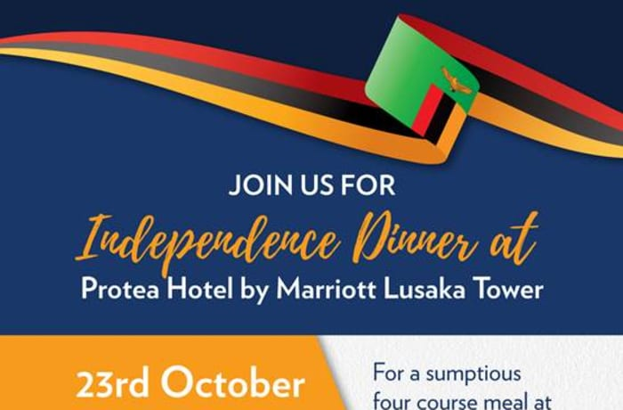 Protea Hotel by Marriott Lusaka Tower- Independence dinner image