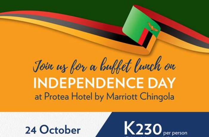 Protea Hotel by Marriott Chingola- Independence Lunch image