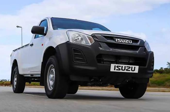 Isuzu KB 250 Fleetside Single Cab