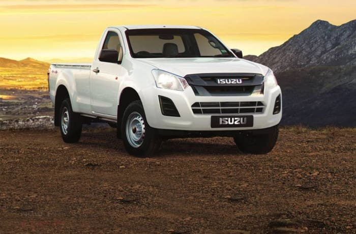 Isuzu D-Max 250 HO 4X4 R/C Base A/C Single Cab