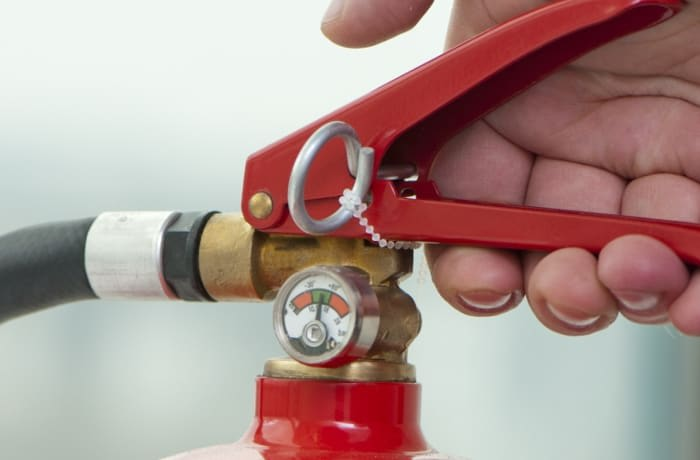 Inspects, maintains, tests, and repairs all types of fire extinguishers image