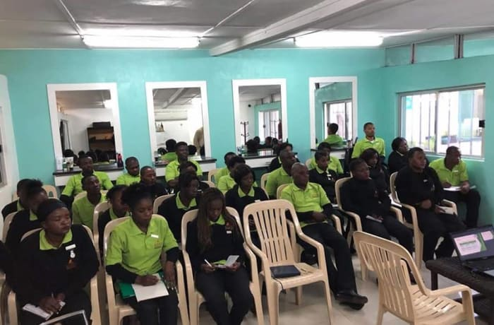 Kozo's team receives customers service training image