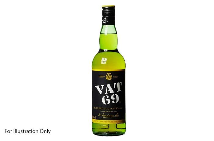Bar Menu  - Vat 69 Whisky