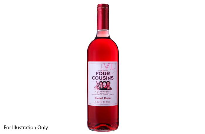 Wine  - Four Cousins