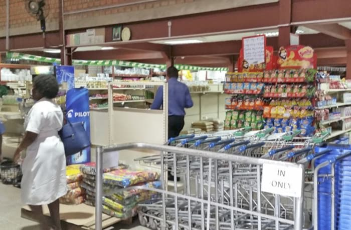 A full service supermarket image