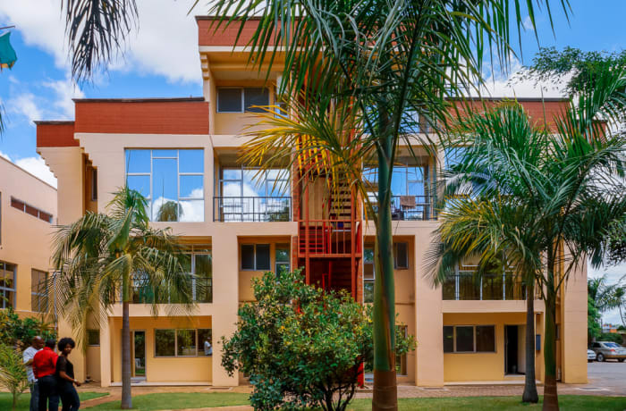 Double storey apartments image