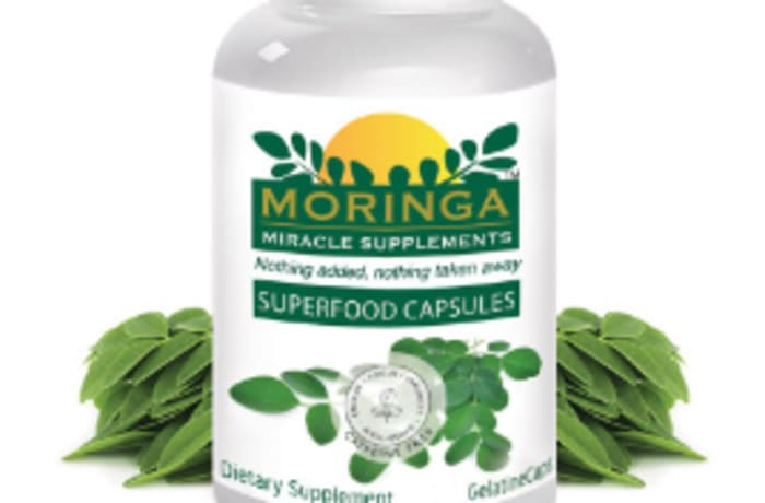 Herb Extract  Moringa Superfood Capsules - 180