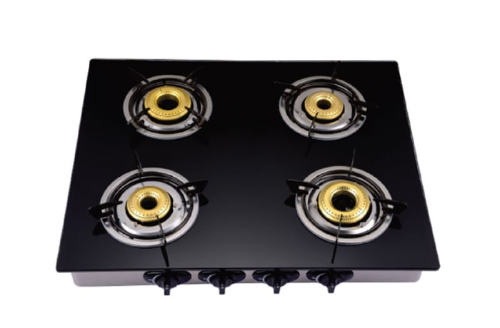 Geepas - glass top stove 4 plate counter top