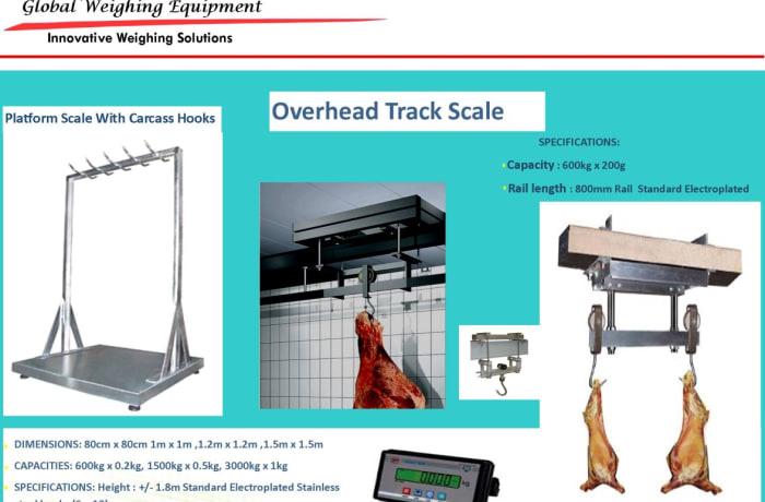 Overhead Track Scale  image