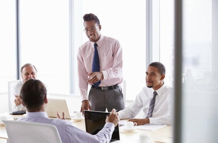 Corporate training management image