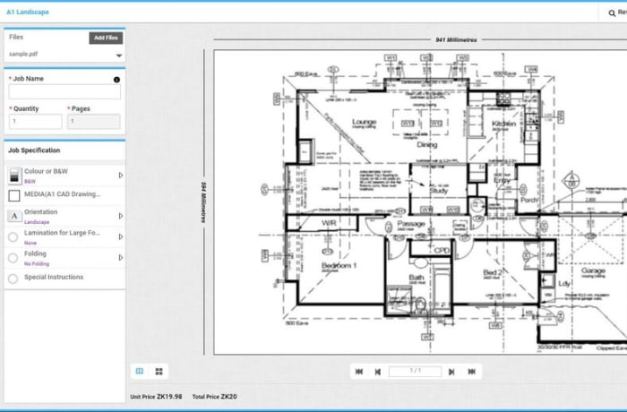 Reprographix introduces web2print image