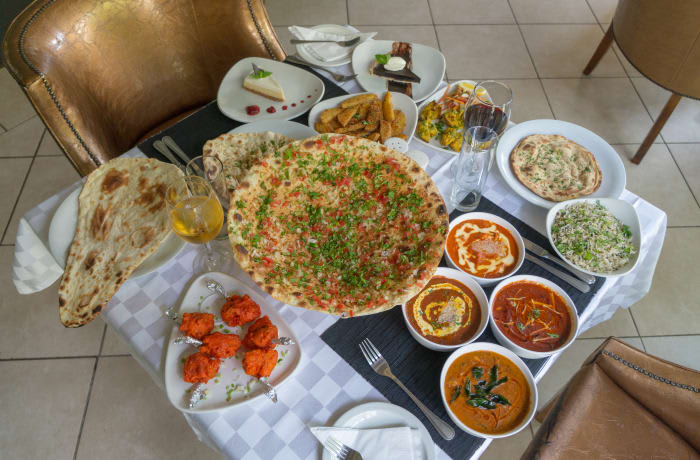 Indian cuisines from the royal courts image