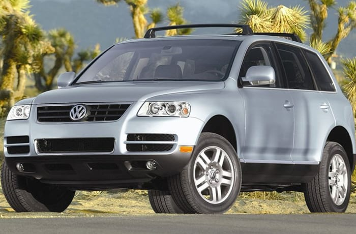 Volkswagen - Touareg Rear Shock Repair