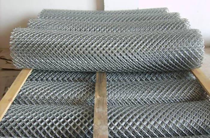 Diamond mesh wire - Mesh size 63 mm, Diameter 2.5 mm