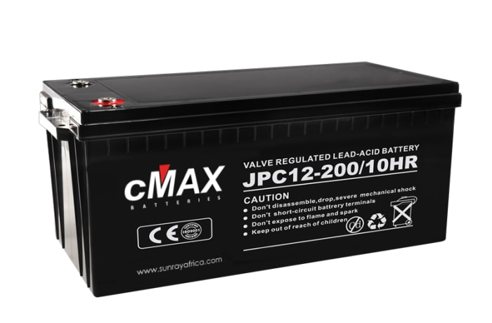 New stock - cMax 12V Lead Carbon Batteries and eMAX Inverters image
