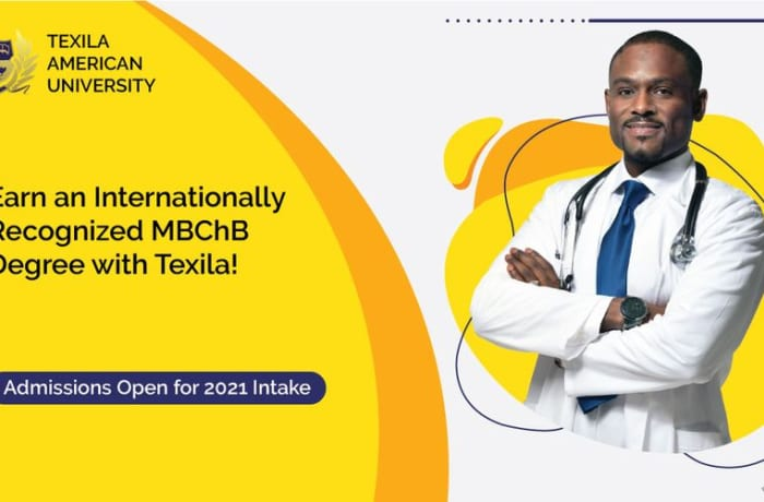 Earn an internationally recognized MBChB Degree with Texila image