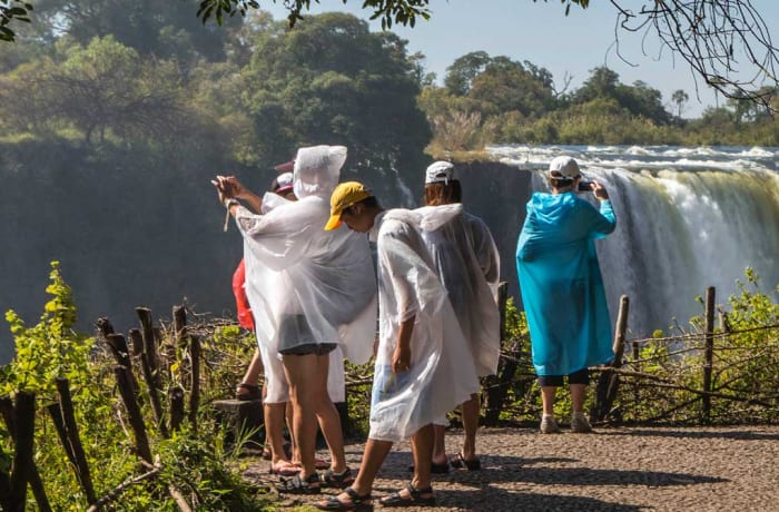Guided Victoria Falls tour (Zimbabwean side excluding entry Visa)