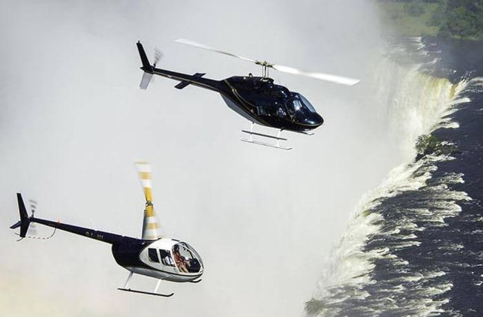 Helicopter flight - short flight (15 minutes )