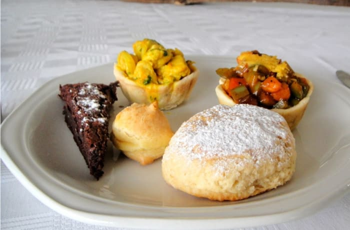 Livingstone Island (Tongabezi) - high tea