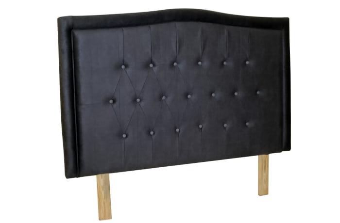 Vubwi  Bed Base Headboard  Black