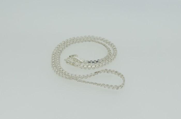 Crystal linked necklace image