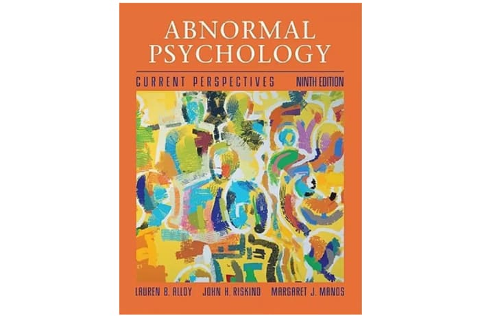 Abnormal Psychology 9th Edition image
