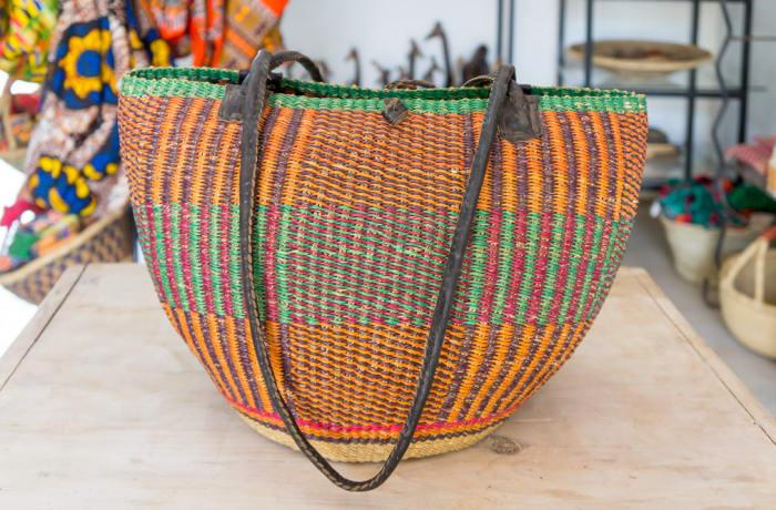 Handwoven Shoulder Basket image