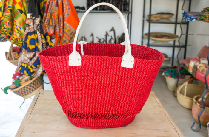 Red Tote Bag image