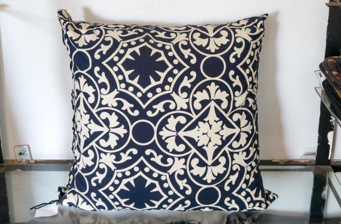 White and Black Cushion image